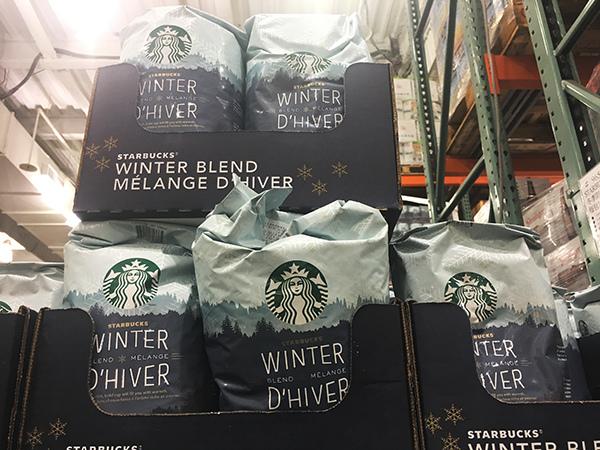 星巴克冬季限定咖啡豆