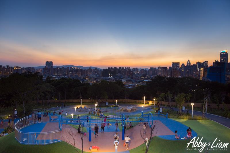 中和夜景,員山公園