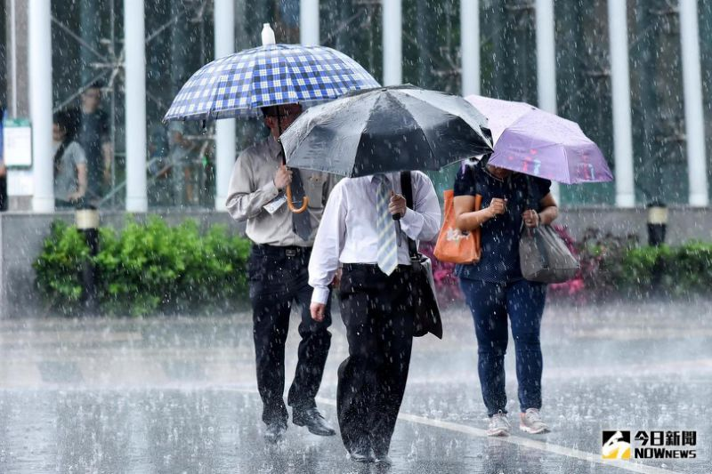 南部大雨各地大積水
