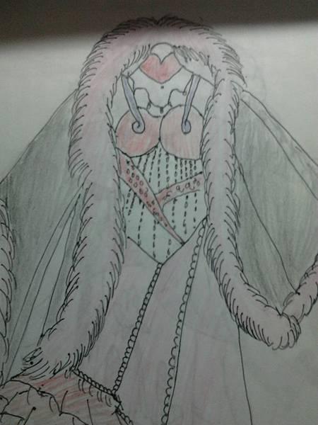 妖后的華麗禮服