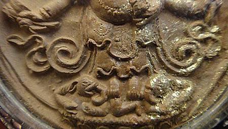 """西藏的擦擦""""白瑪哈嚘啦""""又叫""""大黑天白財神""""亦稱""""清淨財神""""b"""