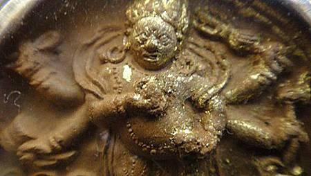 """西藏的擦擦""""白瑪哈嚘啦""""又叫""""大黑天白財神""""亦稱""""清淨財神""""a"""