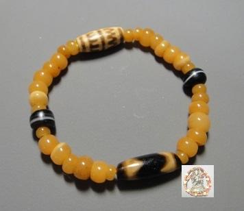 天珠+地母珠手串