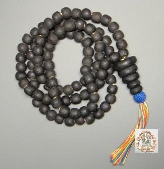 龍波遮大師2551年金答曼尼108顆符管念珠