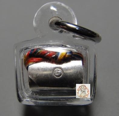 龍波蘇拉薩佛歷2555年純銀手寫符管(純銀版)