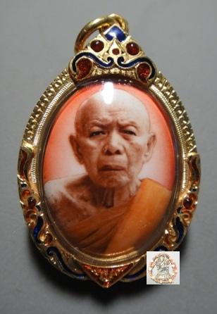 瓦拉罕萊寺龍普添大師2533年侖瑪哈索洛陶瓷自身