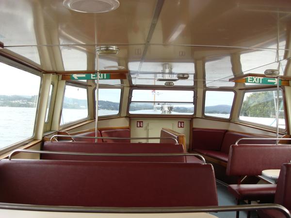 回程因為搭的是末班船,所以是小size的小船