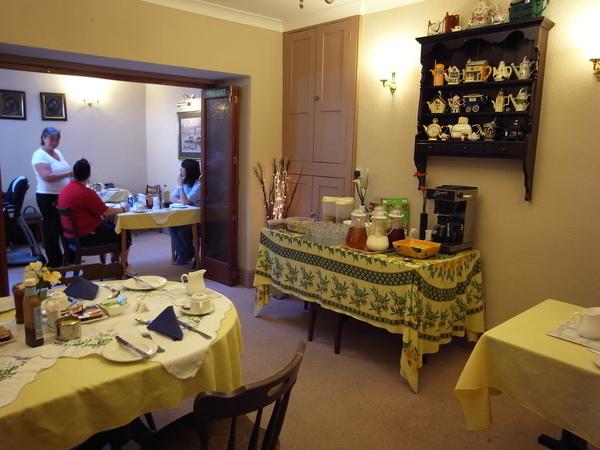 B&B每天都提供充滿原氣的傳統英式早餐