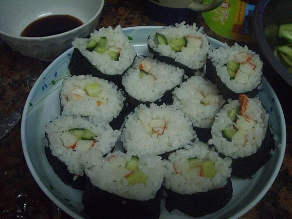 自製的壽司