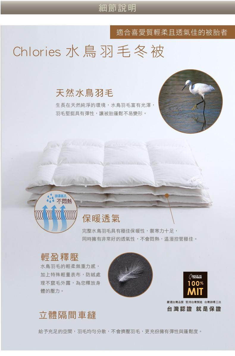 Chlories水鳥羽毛冬被-02