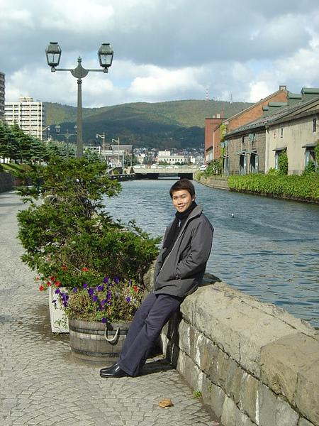 有如縮小版的威尼斯運河~