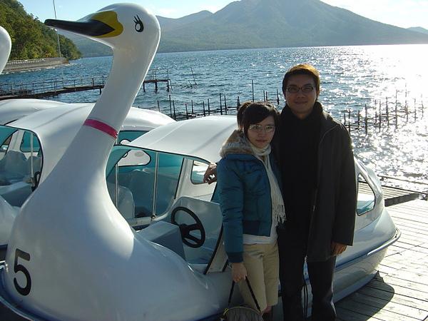 本來要踩天鵝..但風太大不開啦..