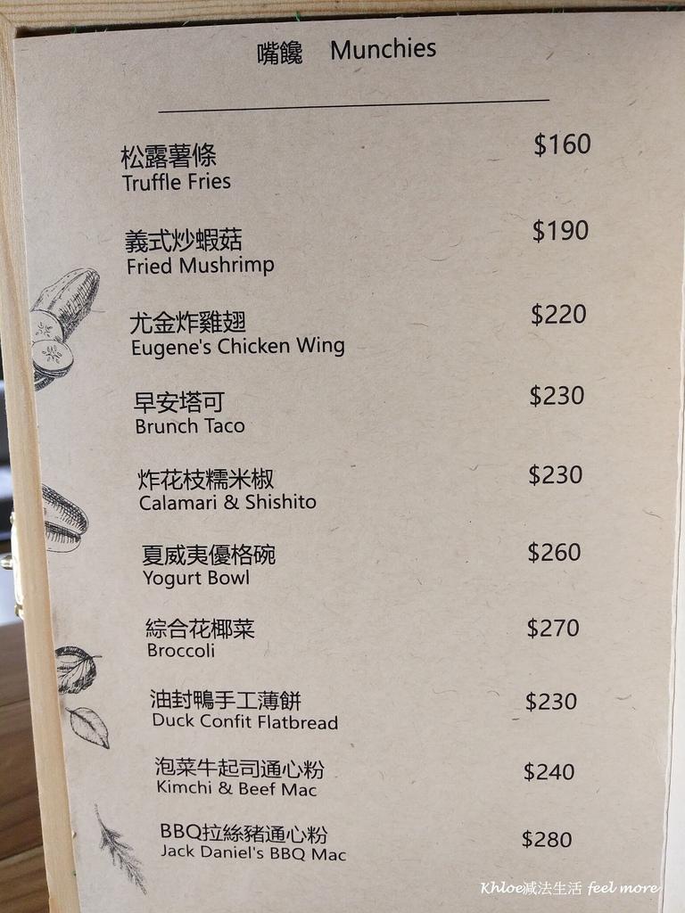 15小巨蛋美食Munchies Cafe美式餐酒館菜單.jpg