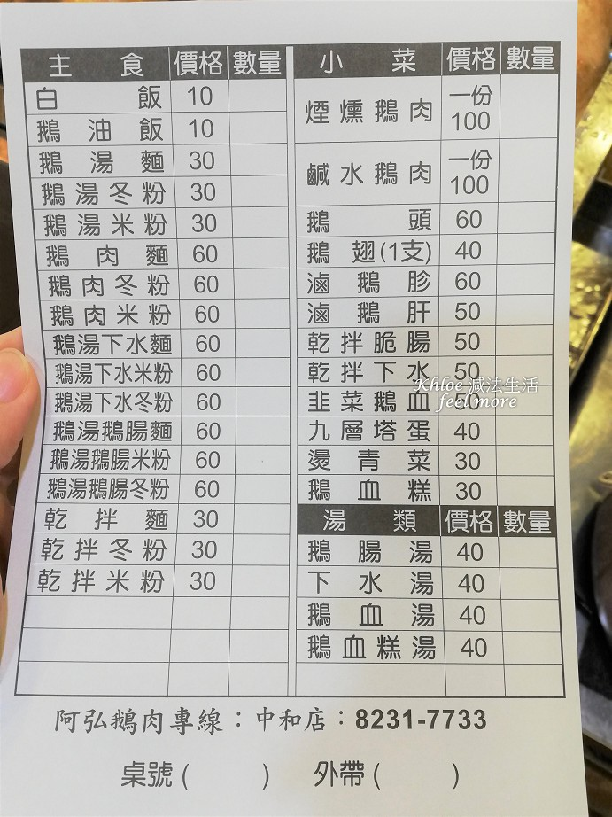 【永和美食-四號公園】阿弘鵝肉專賣店01.jpg