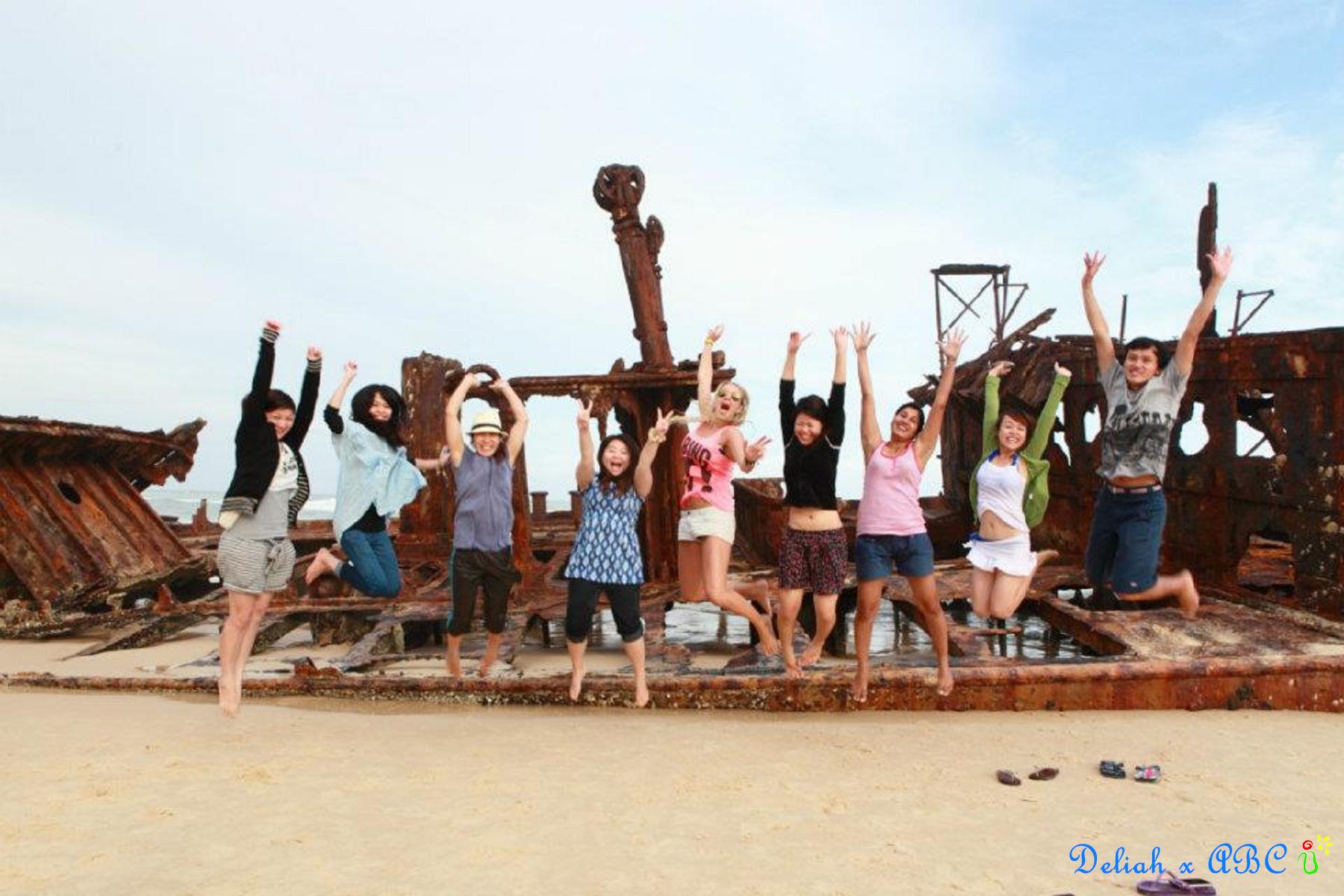 18 Fraser Island Jump