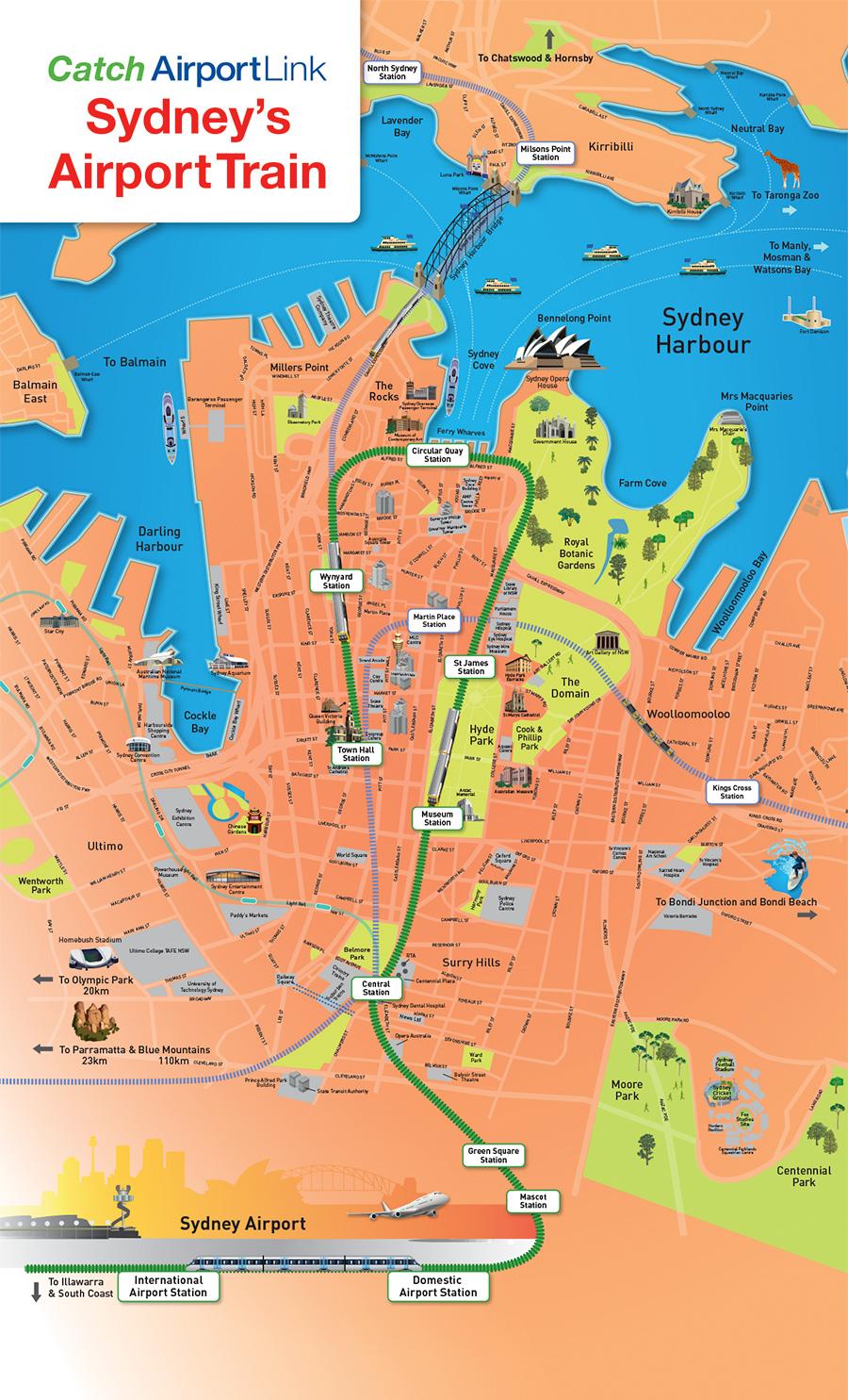 sydney-city-map