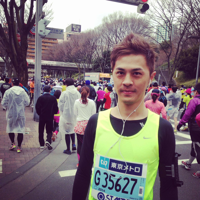 01 Ray_東京馬拉松