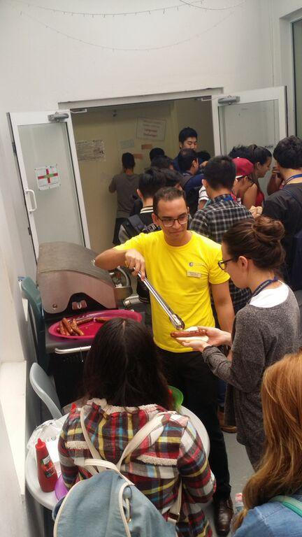 Pei yu Lin - 學校的BBQ活動