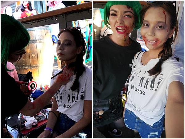 03. Zombie Walk_makeup