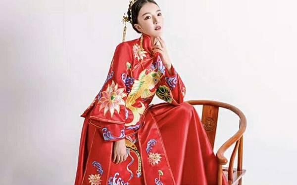 中式婚紗禮服