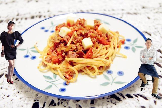 張巧茵 番茄肉醬義大利麵115