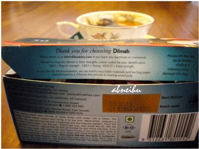 搏感情的dilmah包裝盒