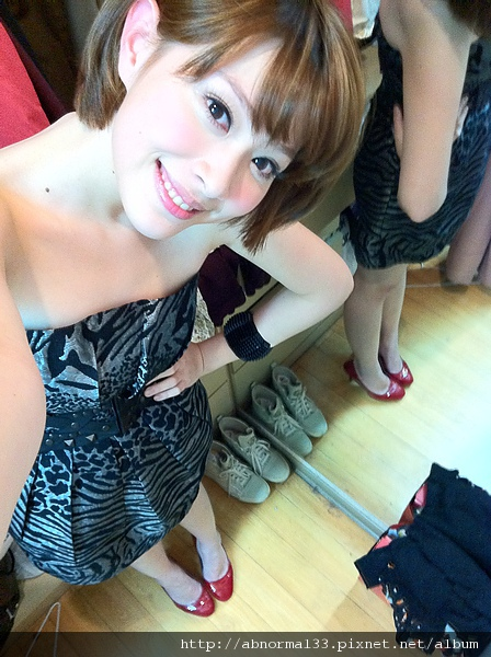 今天的洋裝很好看