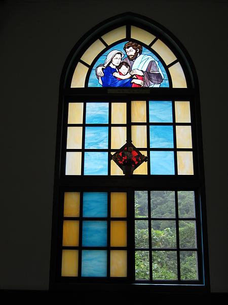 天主堂-玻璃1
