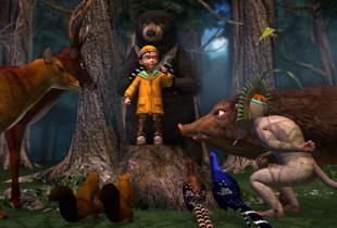 3D電影-春神跳舞的森林