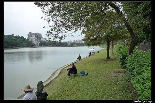 碧湖釣魚1s