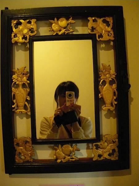 金水國小內的廁所鏡子