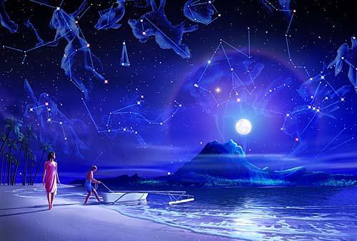 南太平洋の満月---1