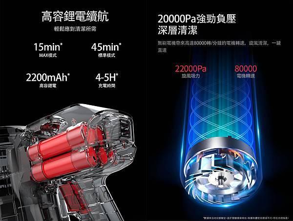 鋰電池吸塵器