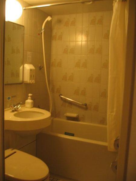 新宿華盛頓飯店的房間  之浴室