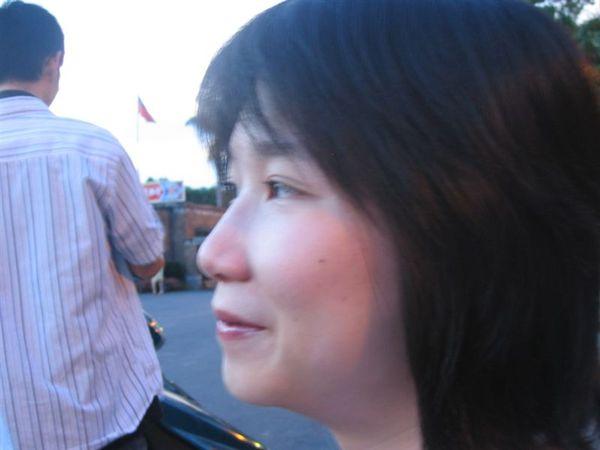 魏小豬的側臉
