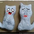 【分享】手作用貓毛超簡單製作手指偶