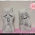 【可愛的貓貓】用貓毛超簡單製作手指偶