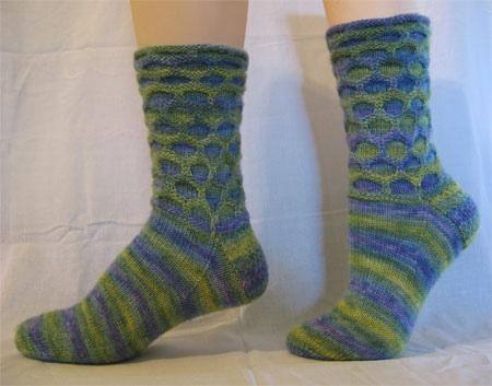 作品28-Circle Socks