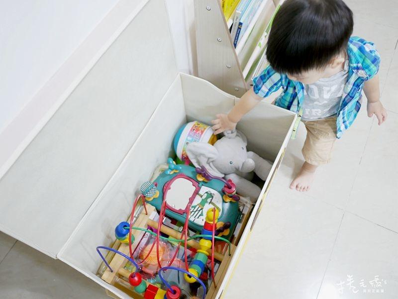 兒童書架 收納 書櫃 玩具收納 整理箱 3spaort-293.jpg