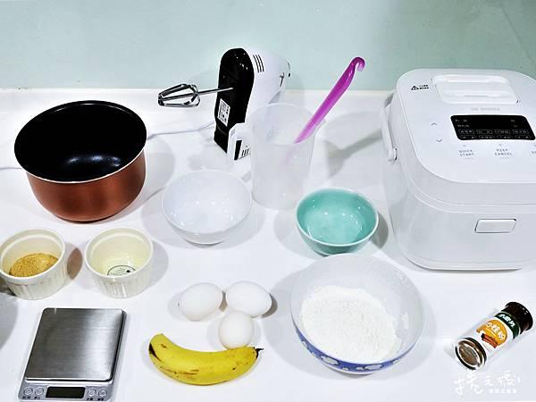 電子鍋 食譜 烤蛋糕 寶寶蛋糕 香蕉蛋糕 簡易蛋糕 免烤箱03.jpg
