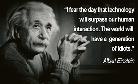 einstein and technology