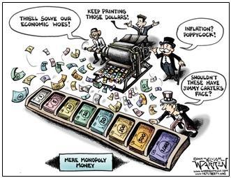 Futility of Printing Money