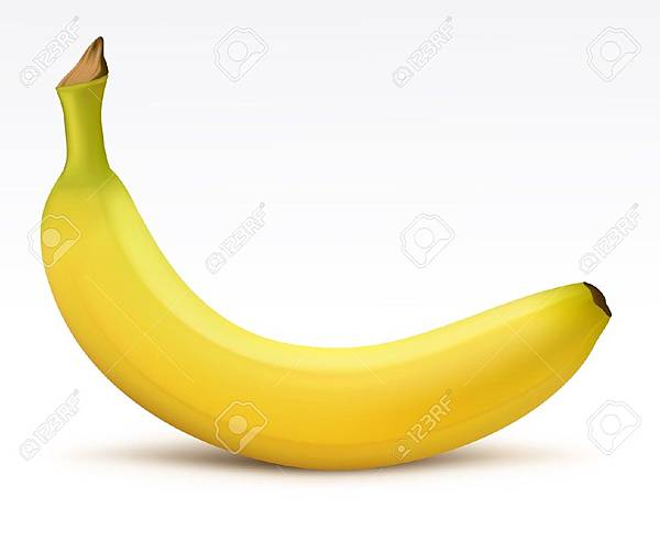 11557277-Bright-yellow-banana-Stock-Vector-banana-food