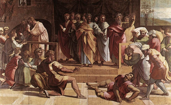 V&A_-_Raphael,_The_Death_of_Ananias_(1515).jpg