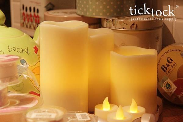 LED01 夜光精靈LED蠟燭燈
