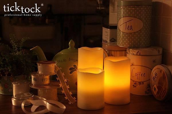LED03 夜光精靈LED蠟燭燈
