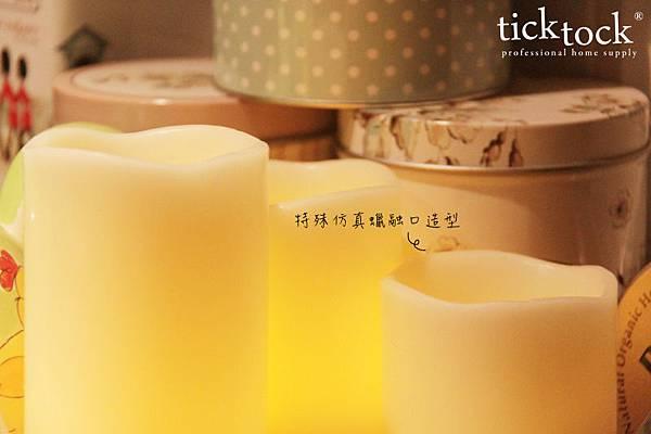 LED04 夜光精靈LED蠟燭燈