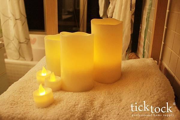 LED09 夜光精靈LED蠟燭燈