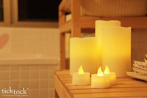 LED10 夜光精靈LED蠟燭燈