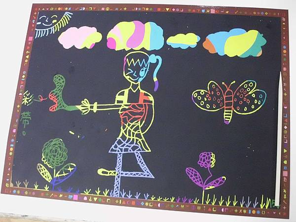 學生的創作畫作